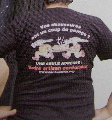 Tee-shirt Dos